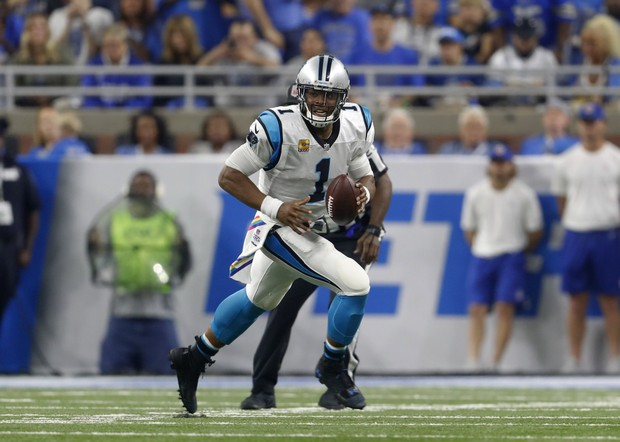 best sneakers 253a7 460da Cam Newton can easily could beat Peyton Manning on / off ...